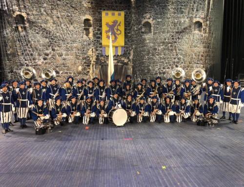 Lucerne Marching Band überzeugt in Belfast – Impressionen
