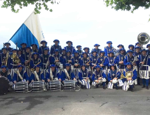 Lucerne Marching Band an der Fête des Vignerons – Impressionen