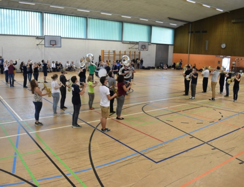 Tattoo-Probe der Lucerne Marching Band live erleben