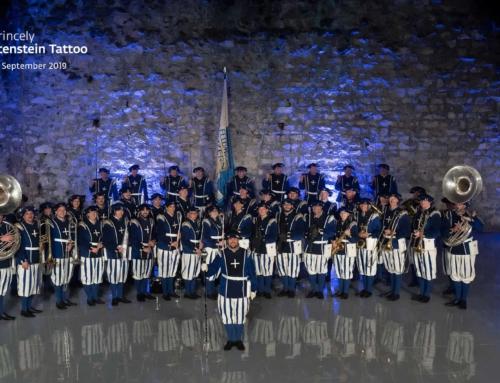 """Die Lucerne Marching Band am """"The Princely Liechtenstein Tattoo"""" – ein wahres Highlight"""