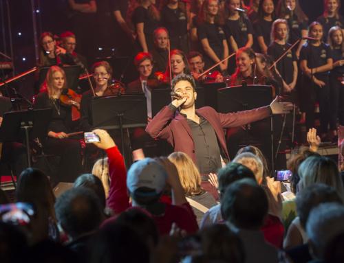 Stimmungsvolle Weihnachtsshow mit Luca Hänni begeistert Publikum